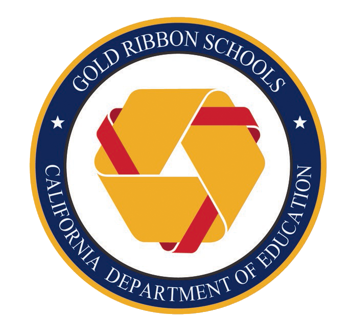 CA DEPT. OF ED GOLD RIBBON SCHOOLS SEAL