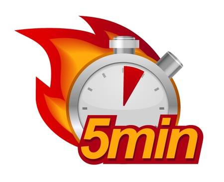 5 minute mile logo