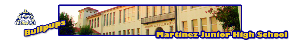 Martinez Junior High  Logo